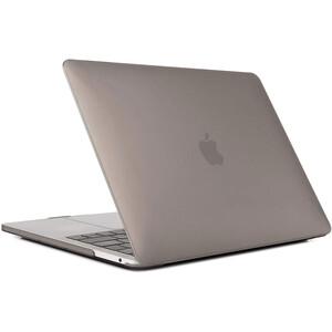 """Купить Пластиковый чехол oneLounge Soft Touch Matte Gray для MacBook Pro 13"""" (2020)"""