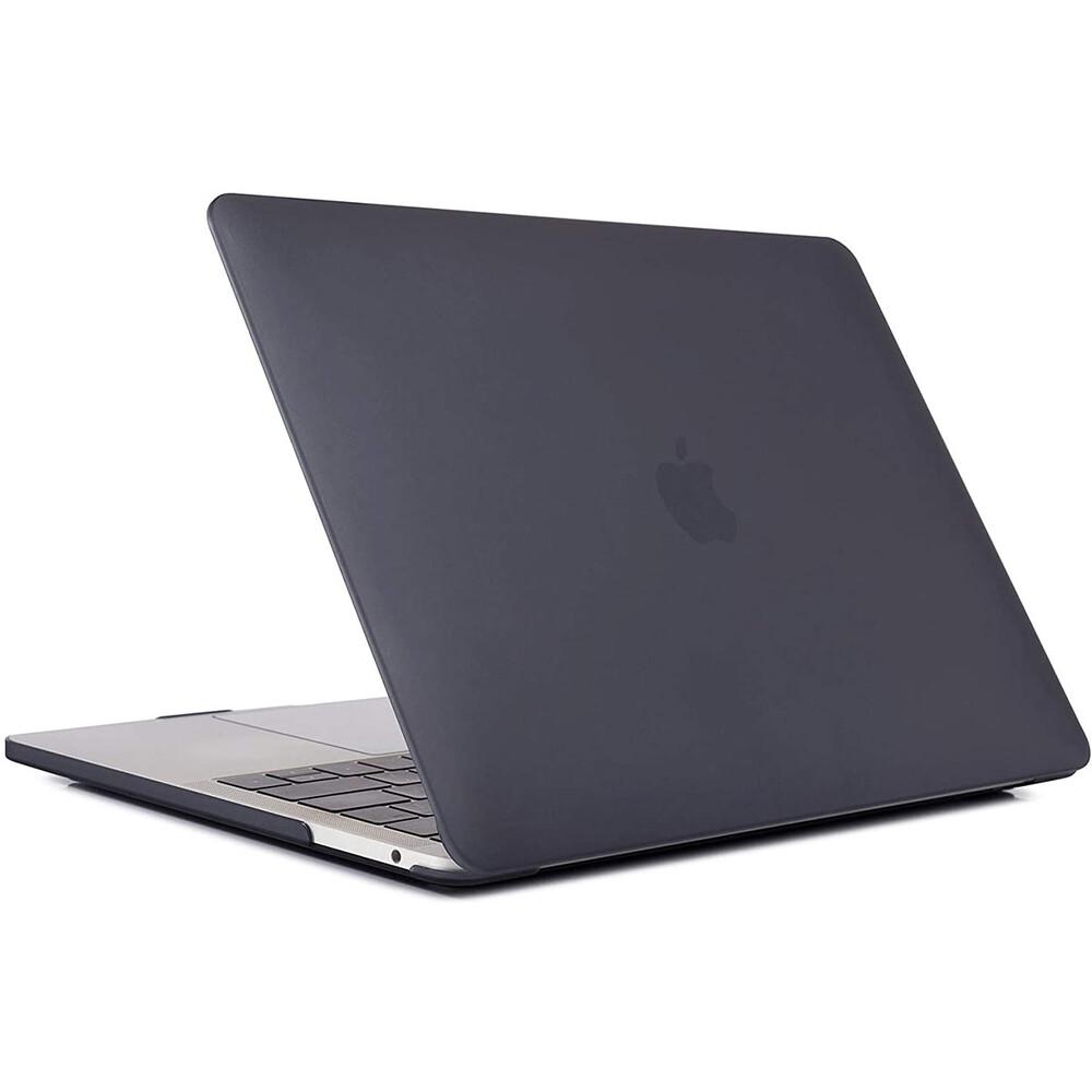 """Купить Пластиковый чехол oneLounge Soft Touch Matte Black для MacBook Pro 13"""" (M1   2020   2019   2018)"""