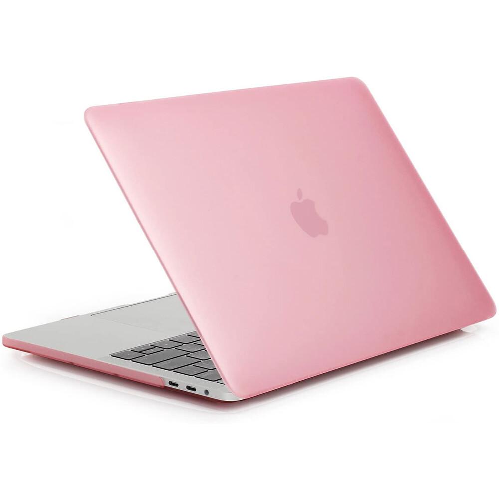 """Купить Пластиковый чехол oneLounge Soft Touch Matte Pink для MacBook Pro 13"""" (2020)"""