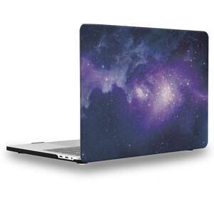 "Купить Пластиковый чехол oneLounge Soft Touch Matte Purple Galaxy для MacBook Pro 13"" (2020)"