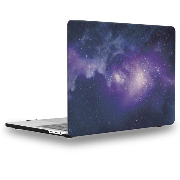 "Пластиковый чехол iLoungeMax Soft Touch Matte Purple Galaxy для MacBook Pro 13"" (M1 | 2020 | 2019 | 2018)"