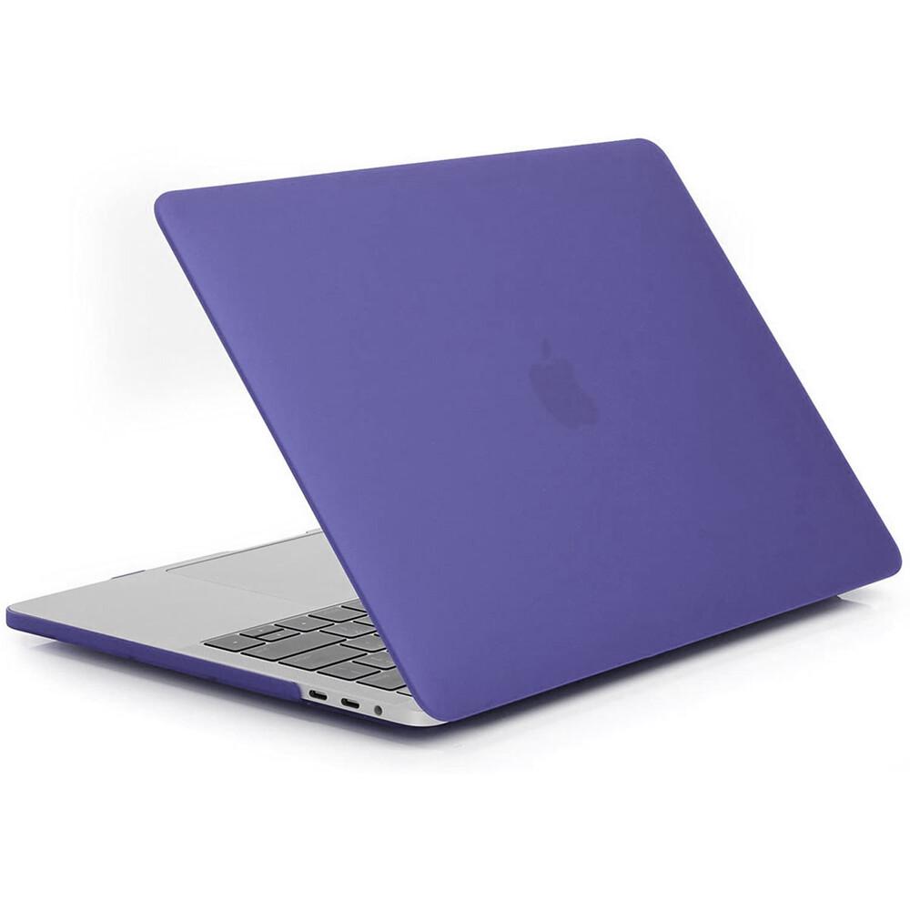 """Купить Пластиковый чехол oneLounge Soft Touch Matte Purple для MacBook Pro 13"""" (2020)"""