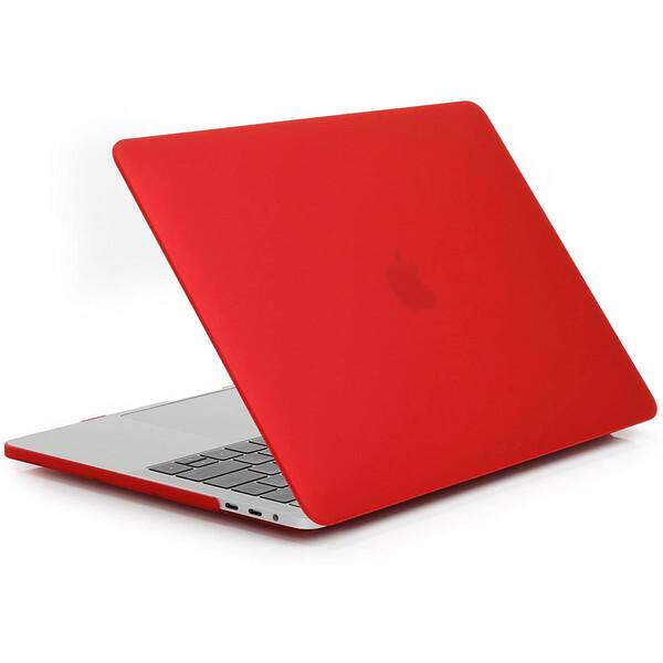 "Пластиковый чехол iLoungeMax Soft Touch Matte Red для MacBook Pro 13"" (M1 | 2020 | 2019 | 2018)"