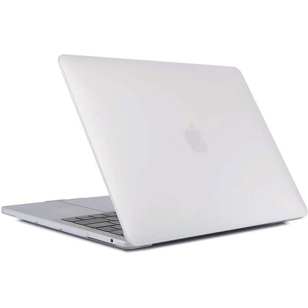 "Пластиковый чехол iLoungeMax Soft Touch Matte Transparent для MacBook Pro 13"" (M1 | 2020 | 2019 | 2018)"