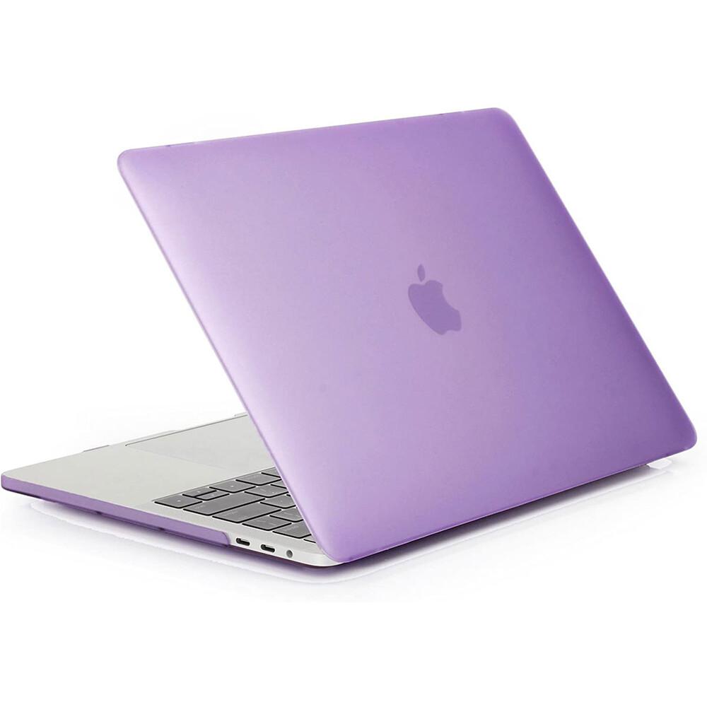 """Купить Пластиковый чехол oneLounge Soft Touch Matte Violet для MacBook Pro 13"""" (M1   2020   2019   2018)"""