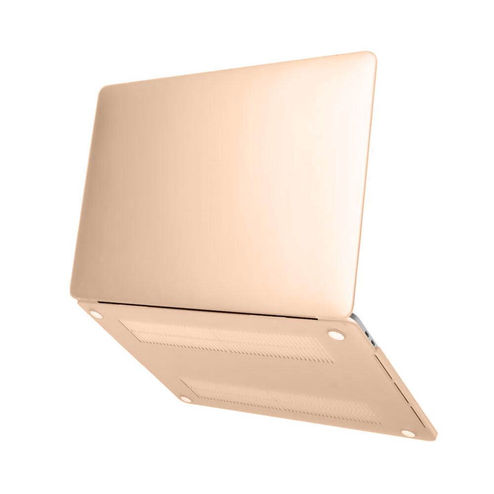 Пластиковый чехол oneLounge Soft Touch Metallic Gold для MacBook Air 13'' (2018)