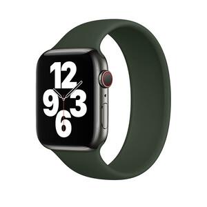 Купить Силиконовый монобраслет oneLounge Solo Loop Pine Green для Apple Watch 38mm | 40mm Size L OEM