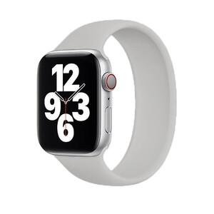 Купить Силиконовый монобраслет iLoungeMax Solo Loop Gray для Apple Watch 44mm | 42mm Size L OEM