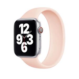 Купить Силиконовый монобраслет oneLounge Solo Loop Pink для Apple Watch 38mm | 40mm Size S OEM