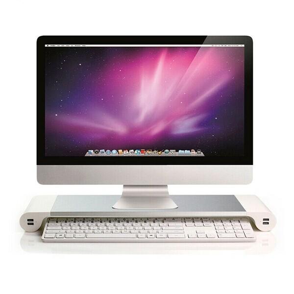 Алюминиевая подставка iLoungeMax Space Bar Monitor Stand для монитора   ноутбука