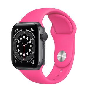Ремінець iLoungeMax Sport Band 41mm   40mm   38mm Barbie Pink для Apple Watch SE   7   6   5   4   3   2   1 OEM