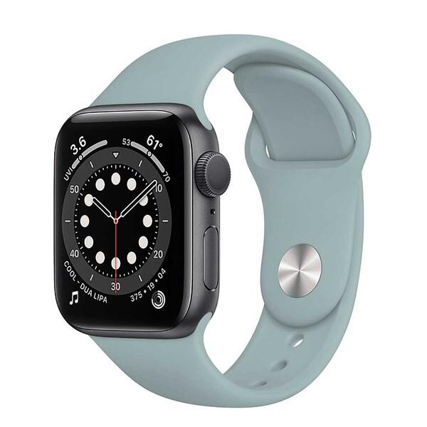 Ремешок iLoungeMax Sport Band 38mm | 40mm Mist Blue для Apple Watch SE | 6 | 5 | 4 | 3 | 2 | 1 OEM