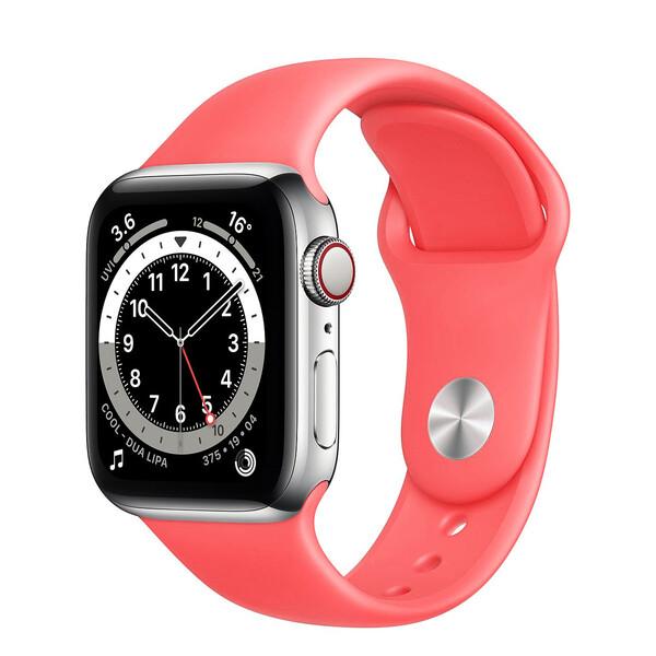 Ремешок iLoungeMax Sport Band 38mm | 40mm Peach для Apple Watch SE | 6 | 5 | 4 | 3 | 2 | 1 OEM