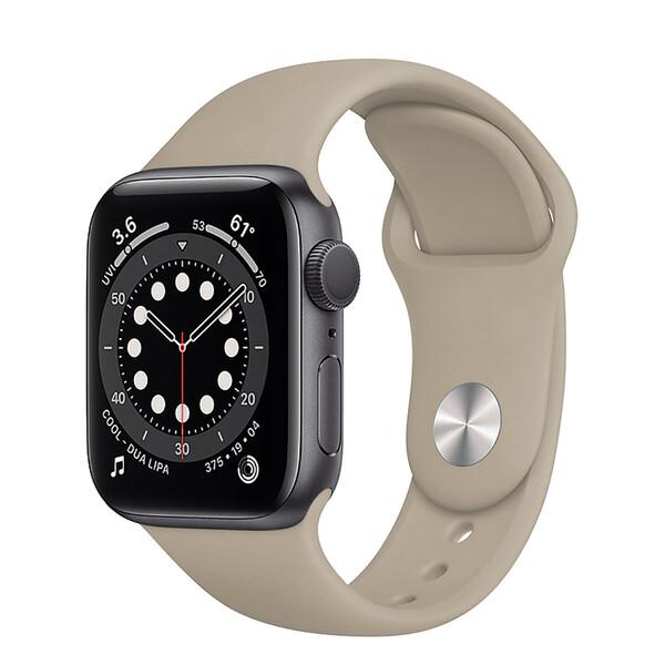 Ремешок iLoungeMax Sport Band 38mm | 40mm Stone для Apple Watch SE | 6 | 5 | 4 | 3 | 2 | 1 OEM