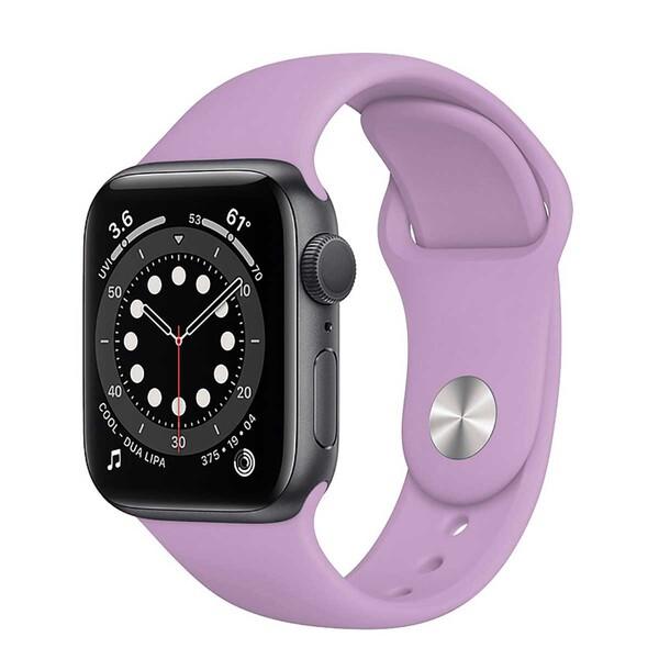 Ремешок iLoungeMax Sport Band 38mm | 40mm Thistle для Apple Watch SE | 6 | 5 | 4 | 3 | 2 | 1 OEM