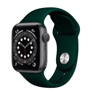 Ремінець iLoungeMax Sport Band 41mm   40mm   38mm Forest Green для Apple Watch SE   7   6   5   4   3   2   1 OEM