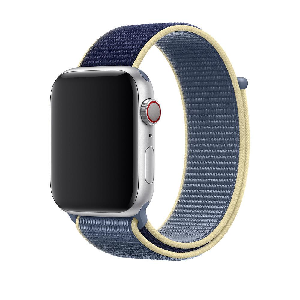 Ремешок oneLounge Sport Loop Alaskan Blue для Apple Watch 42mm | 44mm SE | 6 | 5 | 4 | 3 | 2 | 1 OEM