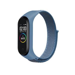 Купить Нейлоновый ремешок oneLounge Sport Loop Blue для Xiaomi Mi Band 5