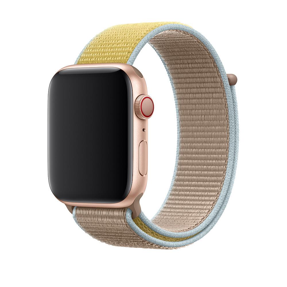 Ремешок oneLounge Sport Loop Camel для Apple Watch 42mm | 44mm SE | 6 | 5 | 4 | 3 | 2 | 1 OEM