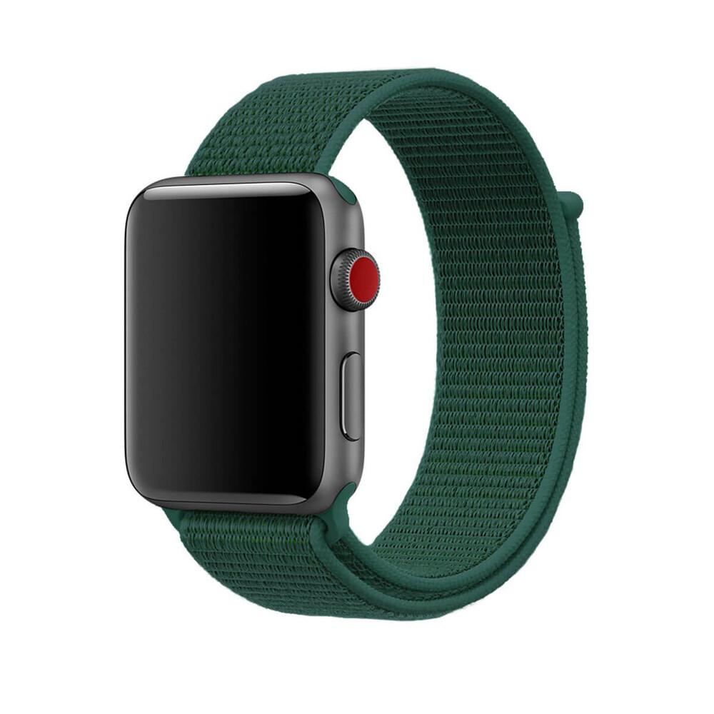 Купить Ремешок oneLounge Sport Loop Forest Green для Apple Watch 42mm | 44mm SE | 6 | 5 | 4 | 3 | 2 | 1 OEM