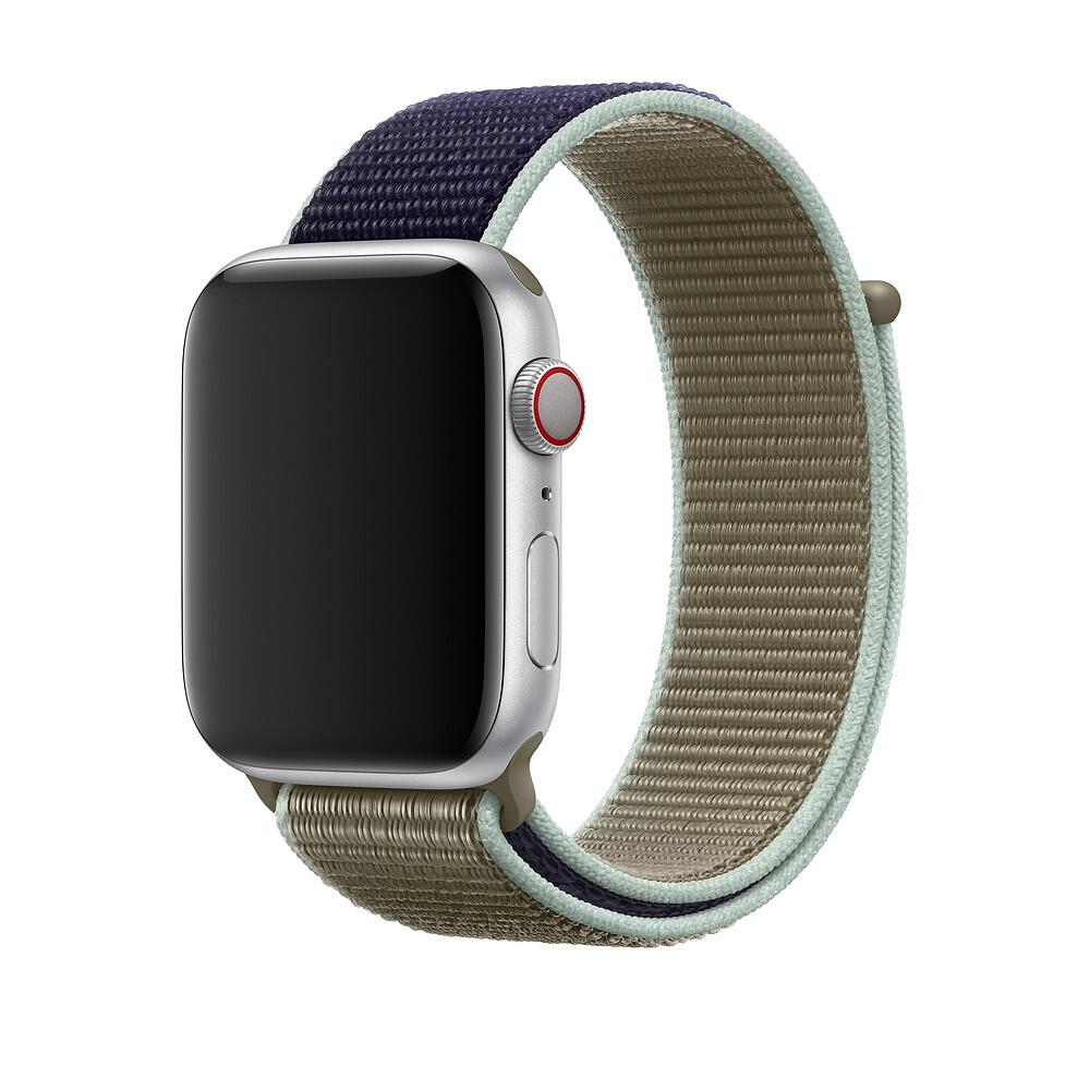 Ремешок oneLounge Sport Loop Khaki для Apple Watch 42mm | 44mm SE | 6 | 5 | 4 | 3 | 2 | 1 OEM