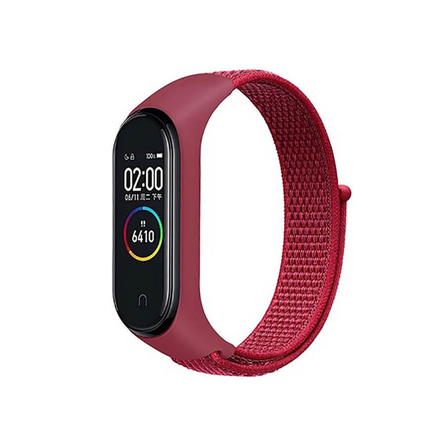 Купить Нейлоновый ремешок oneLounge Sport Loop Pink для Xiaomi Mi Band 5 | 6