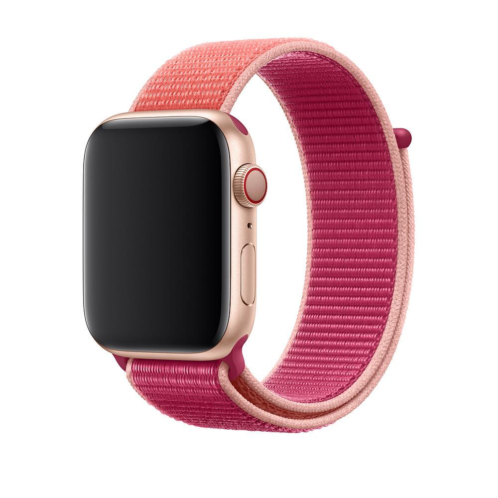 Ремешок oneLounge Sport Loop Pomegranate для Apple Watch 42mm | 44mm SE | 6 | 5 | 4 | 3 | 2 | 1 OEM