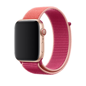 Купить Ремешок oneLounge Sport Loop Pomegranate для Apple Watch 42mm/44mm Series 5/4/3/2/1 OEM