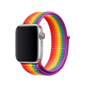 Купить Ремешок oneLounge Sport Loop Pride Edition для Apple Watch 38mm/40mm Series 5/4/3/2/1 OEM