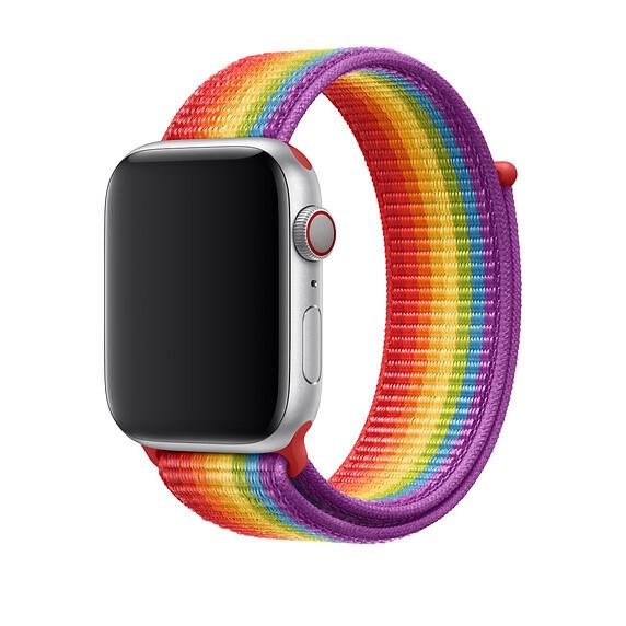 Ремешок oneLounge Sport Loop Pride Edition для Apple Watch 42mm   44mm SE   6   5   4   3   2   1 OEM