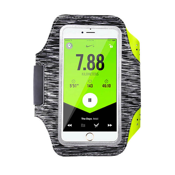 """Спортивный чехол iLoungeMax Sports Armband L Black для смартфонов до 5.2"""""""
