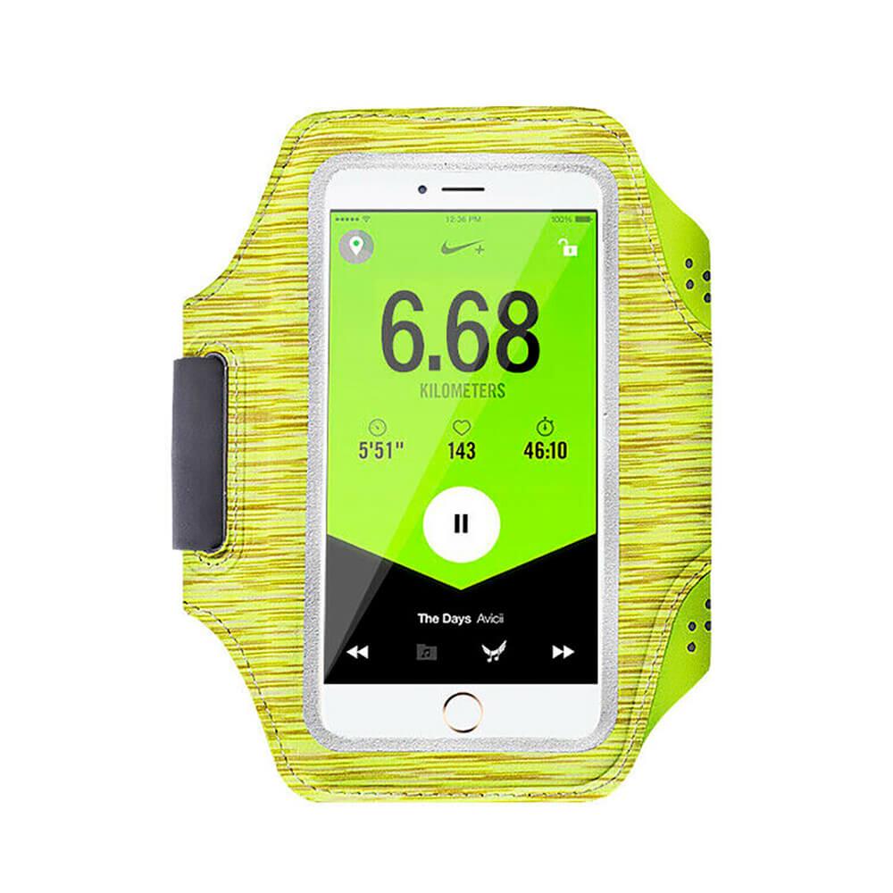 """Спортивный чехол iLoungeMax Sports Armband L Yellow для смартфонов до 5.2"""""""