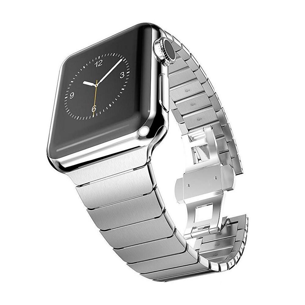 Металический ремешок iLoungeMax Stainless Metal Strap Silver для Apple Watch 38mm | 40mm