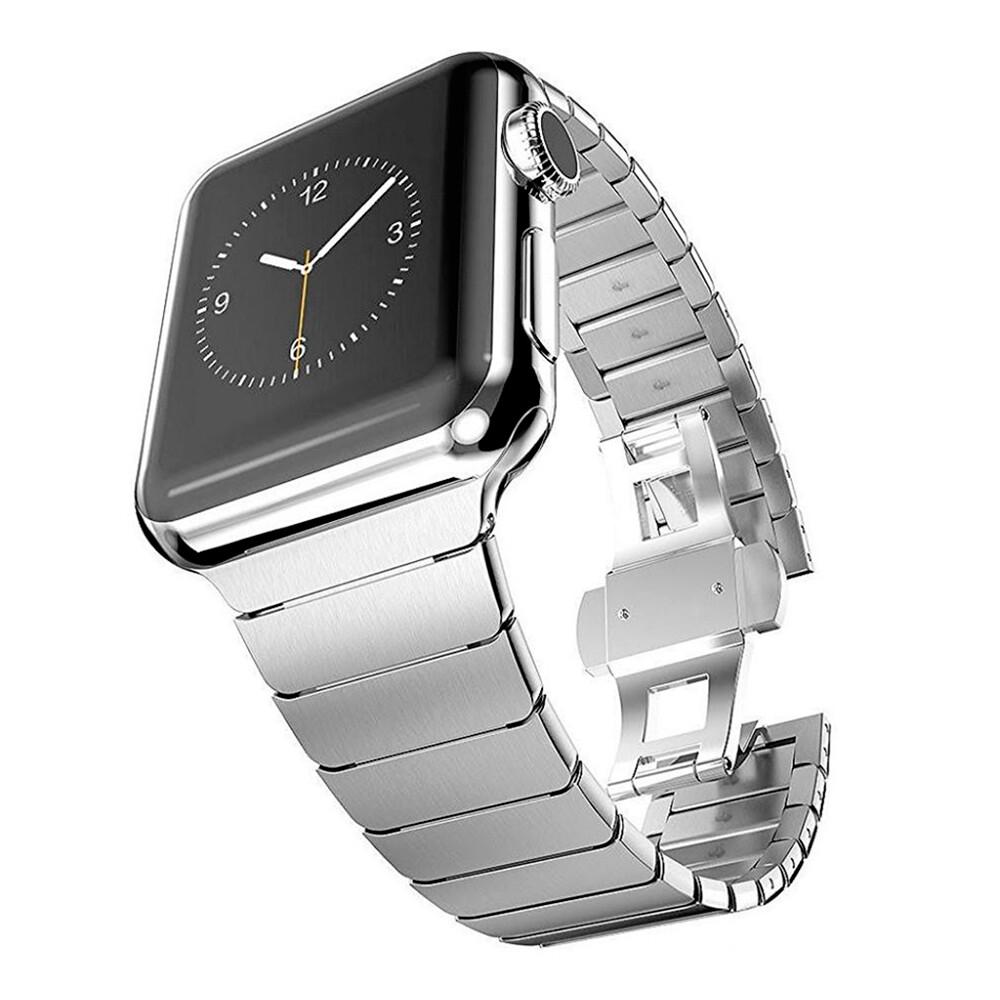 Металический ремешок oneLounge Stainless Metal Strap Silver для Apple Watch 42mm | 44mm