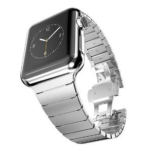 Купить Металический ремешок oneLounge Stainless Metal Strap Silver для Apple Watch 42mm/44mm