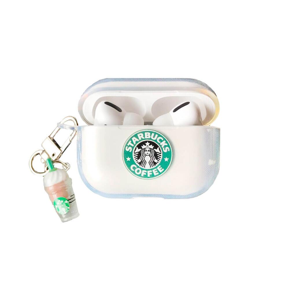 Купить Силиконовый чехол с карабином oneLounge Starbucks для AirPods Pro