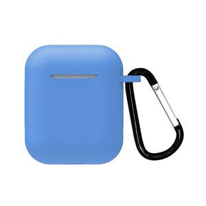 Купить Силиконовый чехол с карабином oneLounge TPU Case Blue для AirPods 2 | 1