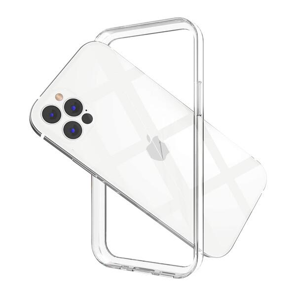 Прозрачный силиконовый бампер iLoungeMax Transparent Bumper для iPhone 12 Pro Max