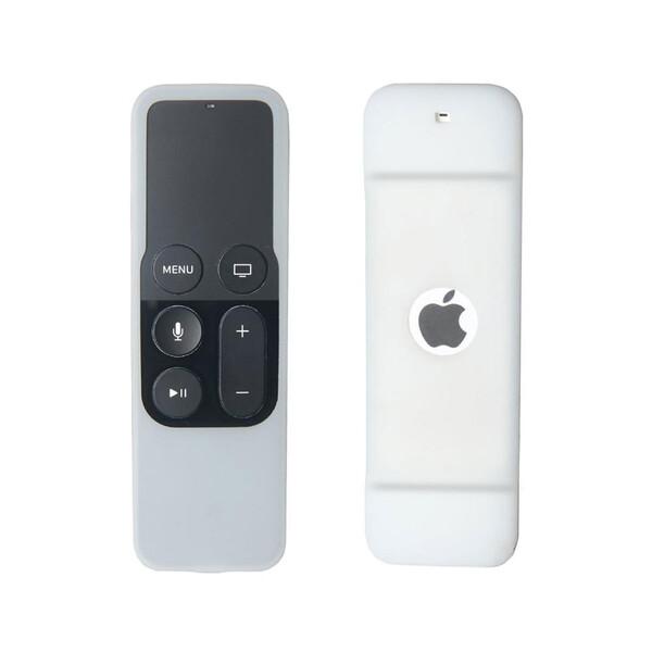 Силиконовый чехол iLoungeMax White для пульта управления Apple TV 4