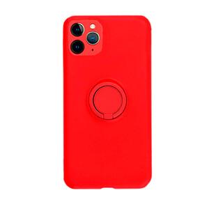 Купить Силиконовый чехол с кольцом oneLounge With Ring Red для iPhone 11 Pro Max