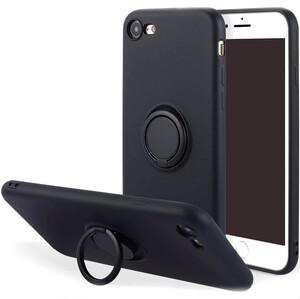 Купить Силиконовый чехол с кольцом oneLounge With Ring Black для iPhone 7 | 8 | SE 2