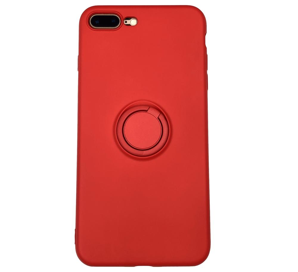 Купить Силиконовый чехол с кольцом oneLounge With Ring Red для iPhone 8 Plus | 7 Plus