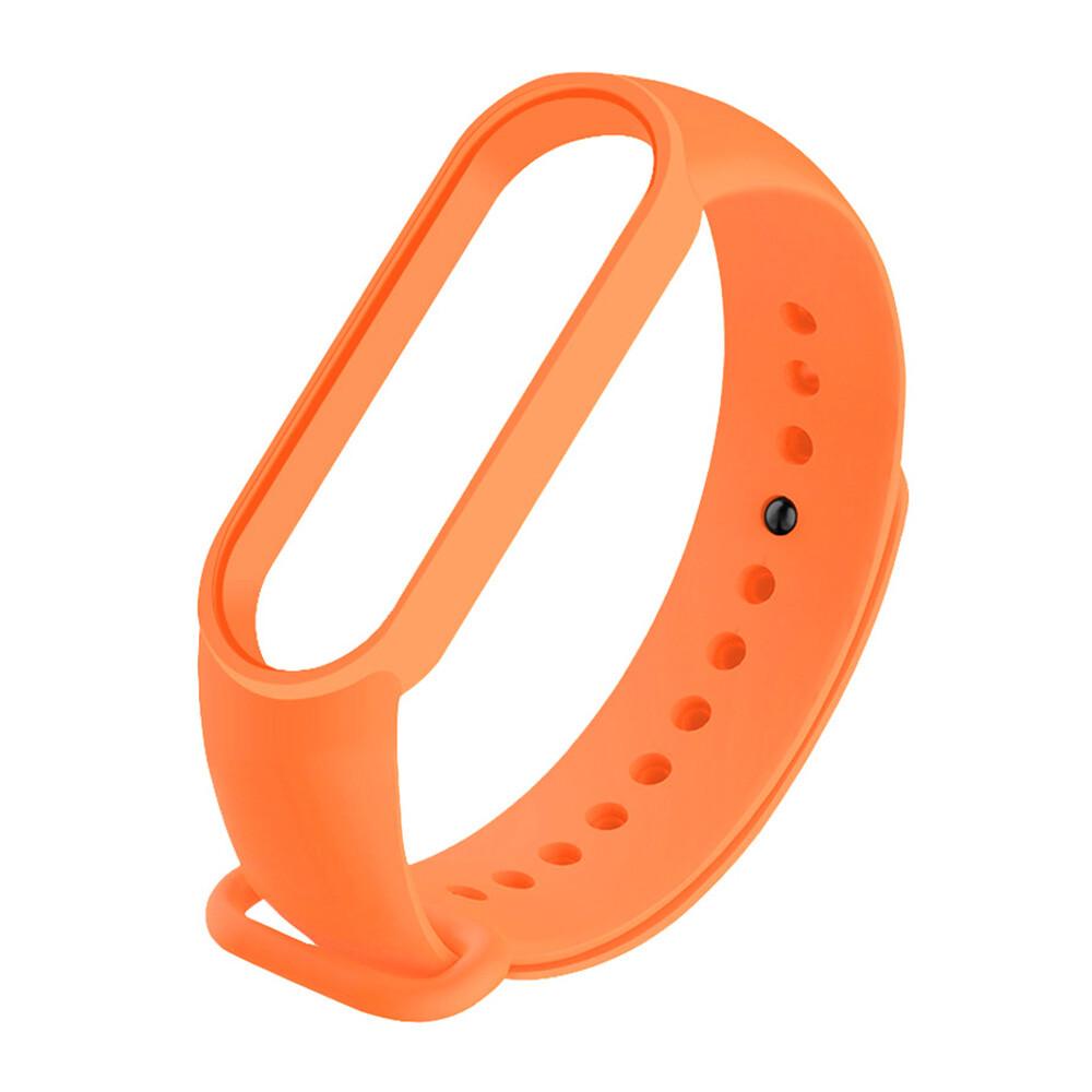 Оранжевый силиконовый ремешок iLoungeMax для Xiaomi Mi Band 5   6