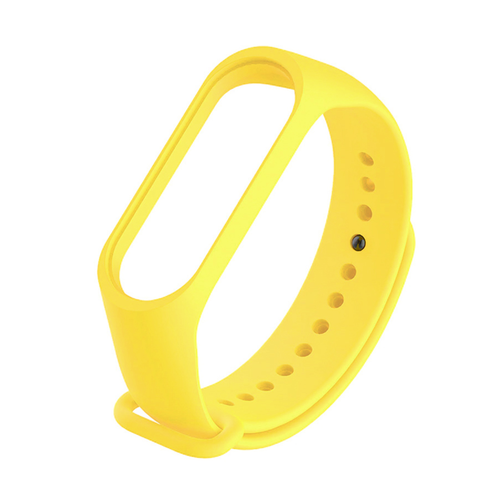 Купить Желтый силиконовый ремешок oneLounge для Xiaomi Mi Band 5 | 6