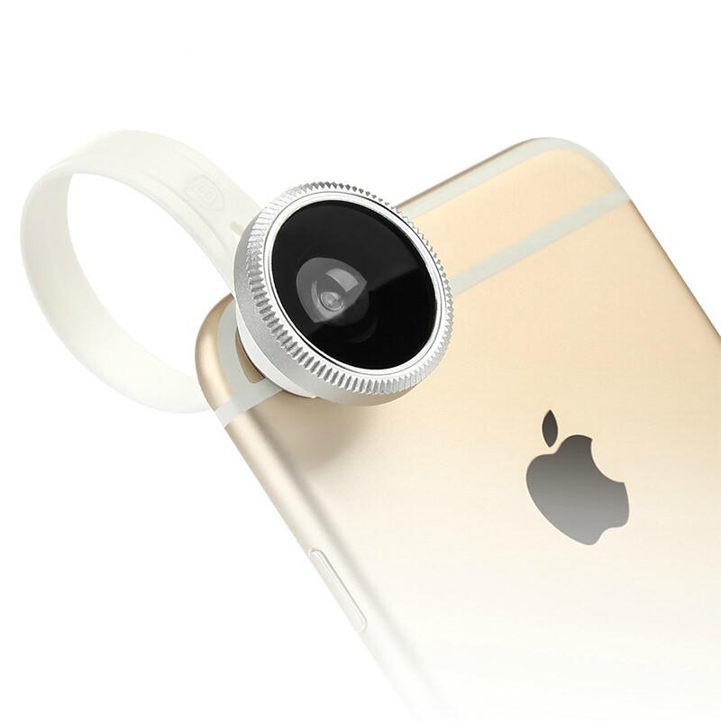 Универсальный объектив Baseus Mini lens для iPhone/iPod/iPad/Mobile