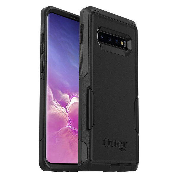 Противоударный чехол OtterBox Commuter Series Black для Samsung Galaxy S10 Plus