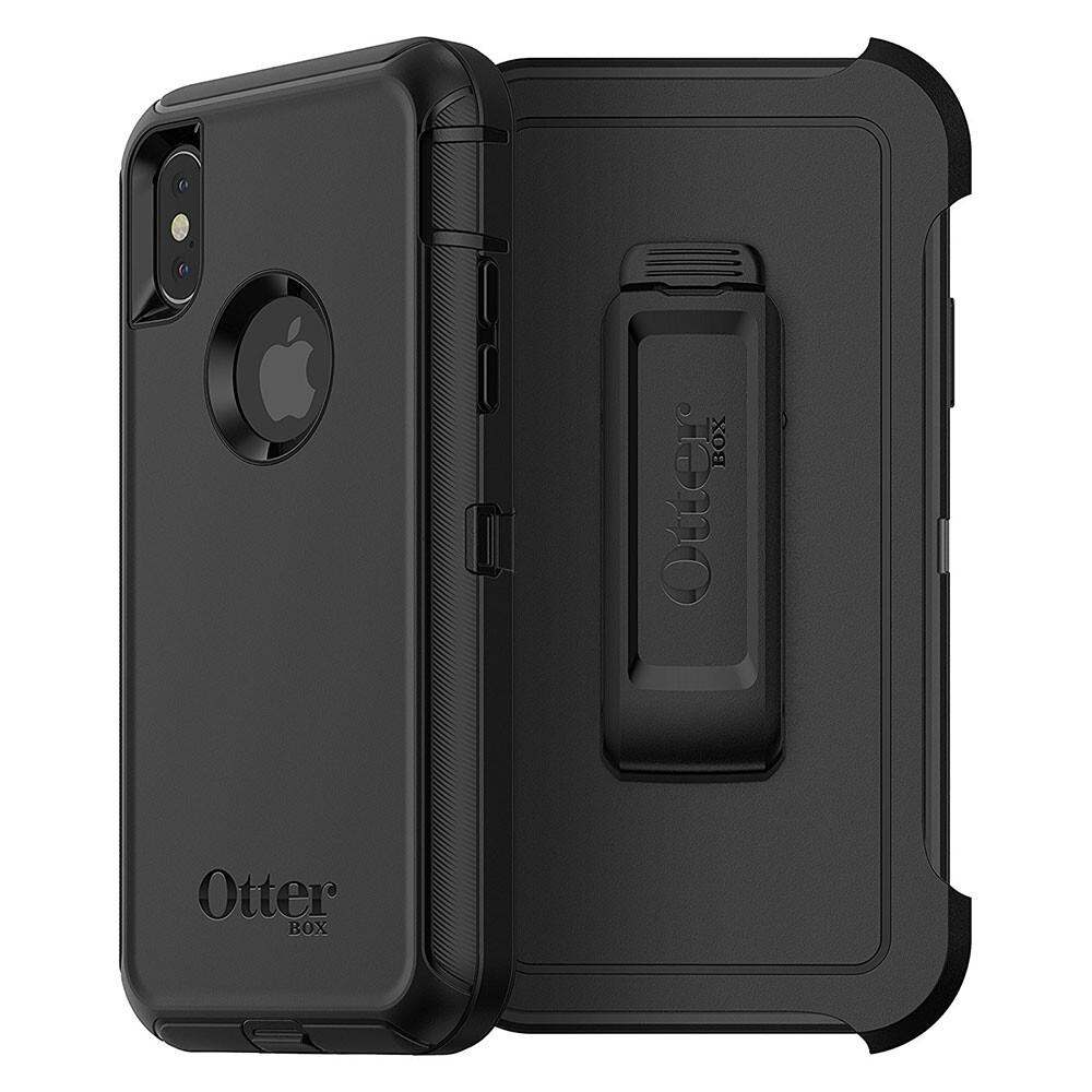 Защитный чехол Otterbox Defender Black для iPhone X/XS