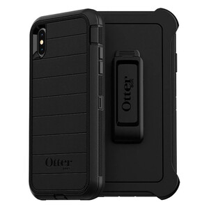 Купить Противоударный чехол Otterbox Defender Pro Screenless Edition Black для iPhone XS Max