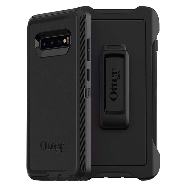 Противоударный чехол OtterBox Defender Series Black для Samsung Galaxy S10e
