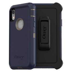 Купить Противоударный чехол Otterbox Defender Series Screenless Edition Dark Lake Blue для iPhone XR